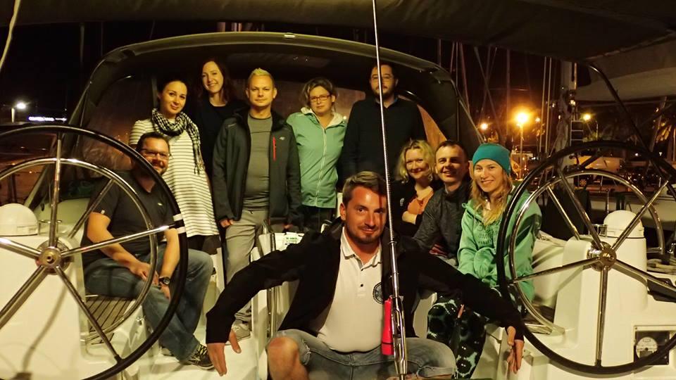 Załoga grupowe OSBARO rejs Baleary 2017 Rejs Baleary Majorka